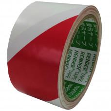 Лента напольная разметочная для разметки пола 3103, 50мм*16,5м, красно-белая