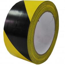 Лента напольная разметочная для разметки пола 3103, 50мм*33м, черно - желтая