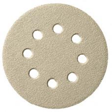 Шлифовальный круг самозацепляемый PS 33 CK, 125 мм, 8 отверстий на бумажной основе