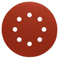 Шлифовальный круг PS 18 EK, 125 мм, 8 отверстий на бумажной основе