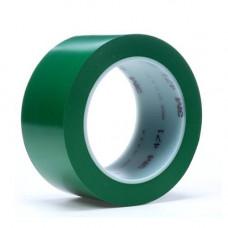 3m 471 - Лента напольная разметочная для разметки пола, зеленая.