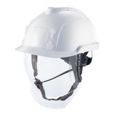 Каска защитная V-Gard 950, FasTracIII, без вентиляции. C держателями бейджа/лампы.