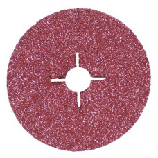 RoxelPro Фибровый шлифовальный круг ROXPRO 125 х 22мм, керамика, Р24