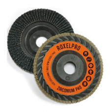 RoxelPro Лепестковый круг ROXTOP 125 х 22мм, цирконат, конический, Р40