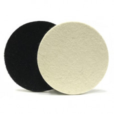 RoxelPro Фетровый полировальный круг на липучке 125 х 6мм, мягкий