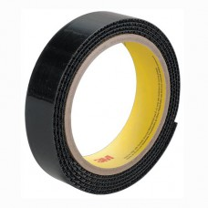 SJ3571 Застежка петля, черная, 25 мм.