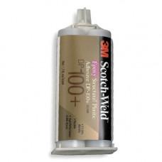 Клей DP100 PLUS двухкомпонентный, эпоксидный, прозрачный, 50 мл.