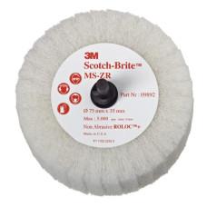 Scotch-Brite Roloc + MS-ZR лепестковый круг, Тип Т, 75 мм х 35 мм, № 09892