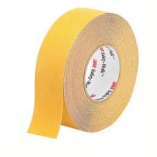 3M Safety-Walk 630 противоскользящая универсальная лента средней зернистости, желтая, 51 мм х 18.3 м.