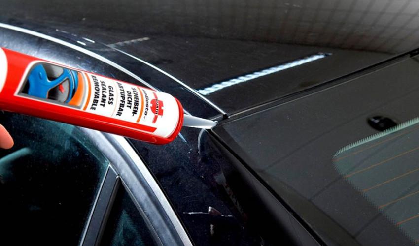 Герметик для стекла автомобиля
