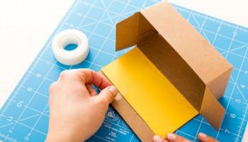 Что можно сделать из картона и скотча
